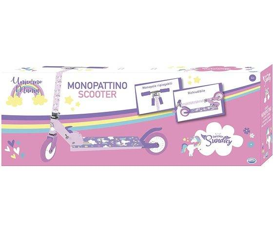 ods monopattino unicorno scooter