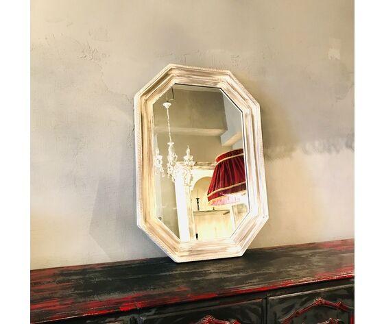 Phill Abstract Octagonal Mirror