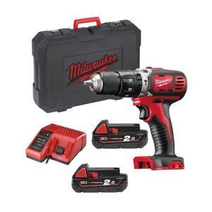 MILWAUKEE Trapano Avvitatore Con Percussione 18v Kit Batterie 2 X 2.0ah