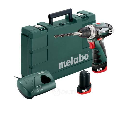 Metabo Mini Trapano Avvitatore A Batteria Powermaxx Bs Basic