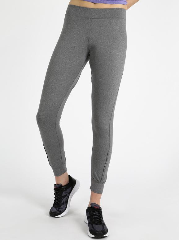 Athl Dpt Fuseaux termico Pantaloni e shorts donna Grigio taglia L