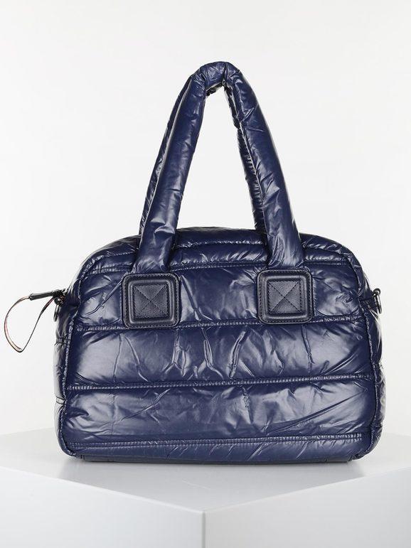 solada borsa a bauletto trapuntata borse a mano donna blu taglia unica
