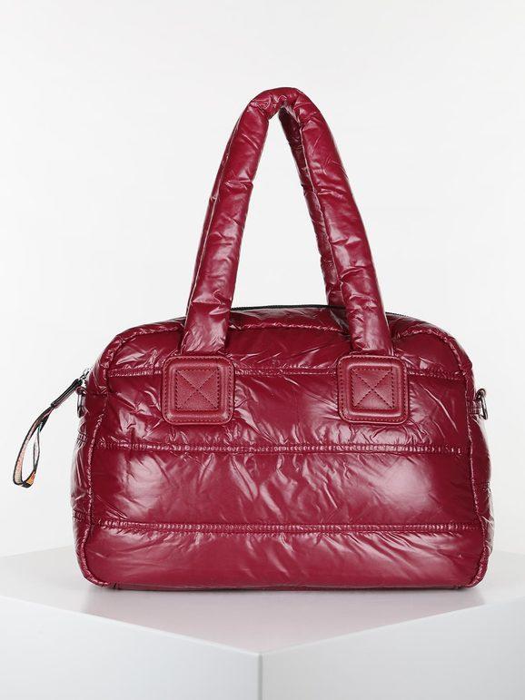 solada borsa a bauletto trapuntata borse a mano donna rosso taglia unica