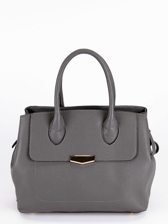 solada borsa a mano borse a mano donna grigio taglia unica
