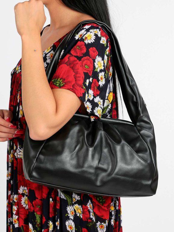 solada borsa a spalla borse a spalla donna nero taglia unica