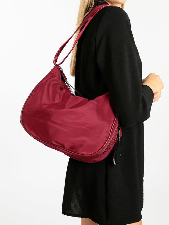 solada borsa donna in tessuto borse a tracolla donna rosso taglia unica