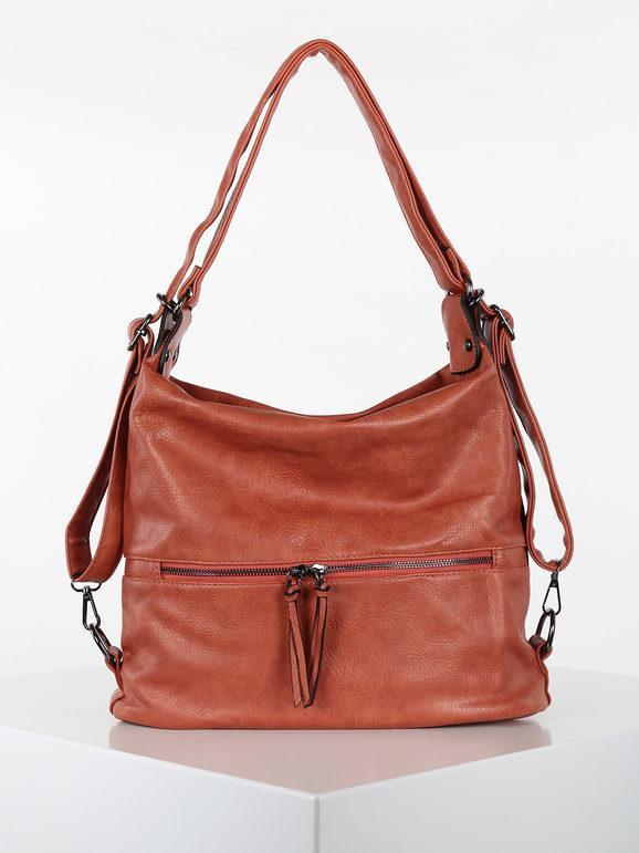 solada borsa hobo in ecopelle borse a spalla donna arancione taglia unica