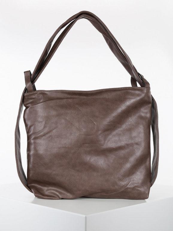 solada borsa hobo in ecopelle borse a spalla donna marrone taglia unica