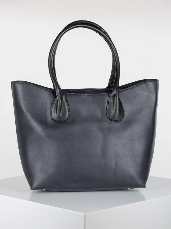 solada borsa in ecopelle borse a spalla donna blu taglia unica