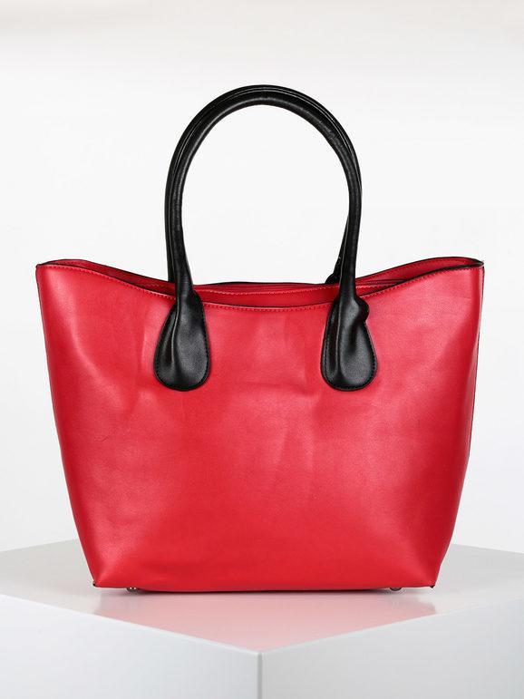solada borsa in ecopelle borse a spalla donna rosso taglia unica