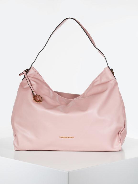 linda chiarelli borsa modello hobo borse a spalla donna rosa taglia unica