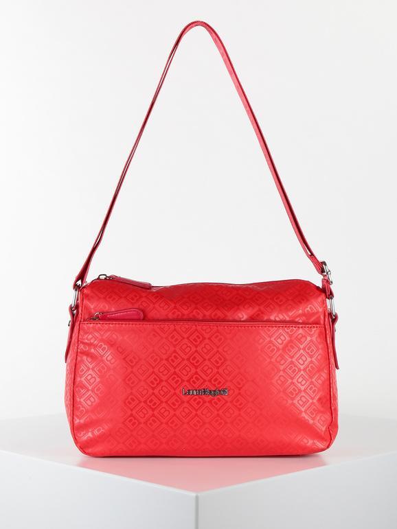 laura biagiotti borsa tracolla idrorepellente piccola borse a tracolla donna rosso taglia unica