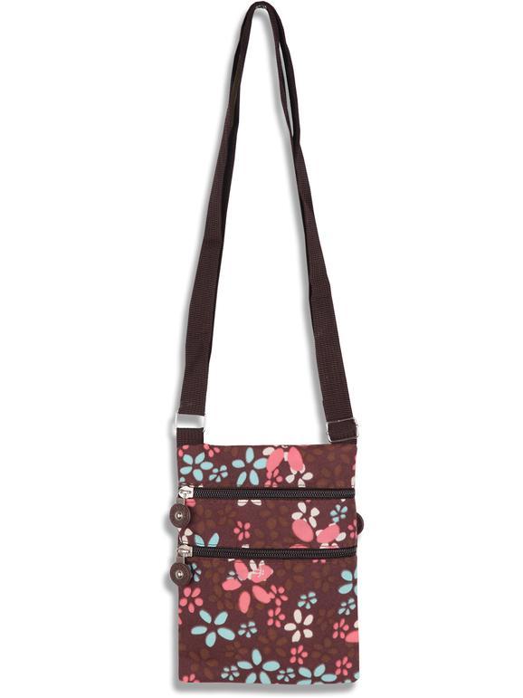 solada borsa tracolla piccola con stampe borse bambina marrone taglia unica