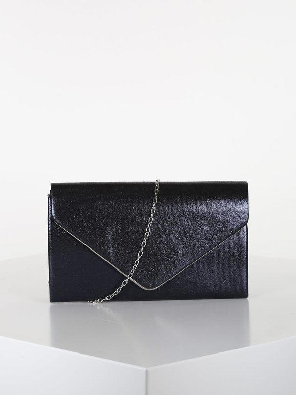 valentina pochette elegante rigida pochette donna blu taglia unica