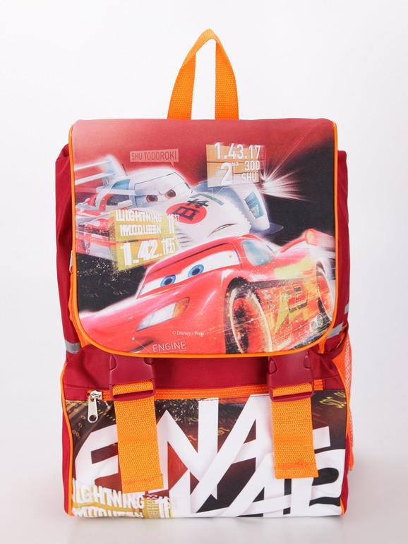 disney zaino scuola con stampa cars borse bambino rosso taglia unica