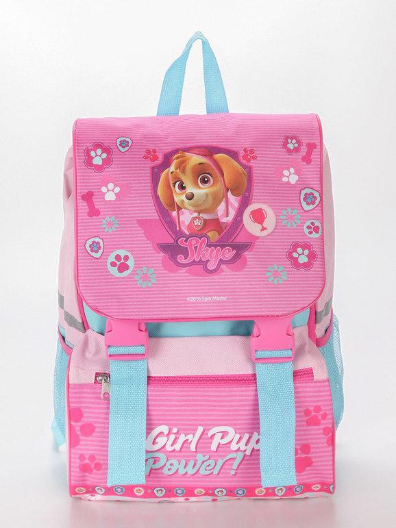 nickelodeon zaino scuola con stampa paw patrol borse bambina rosa taglia unica