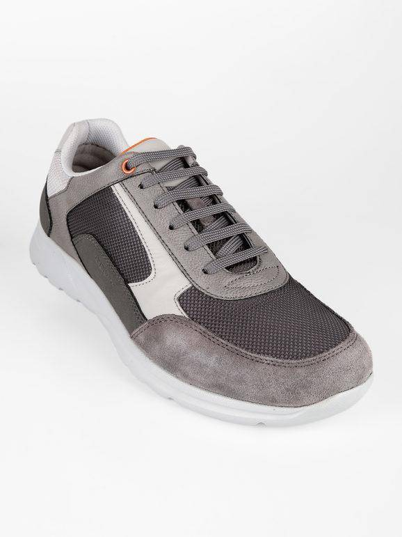 geox u erast a sneakers stringate sneakers basse uomo grigio taglia 41