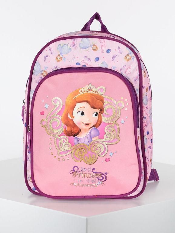 Disney zainetto della principessa Sofia Zaini bambina Rosa taglia Unica