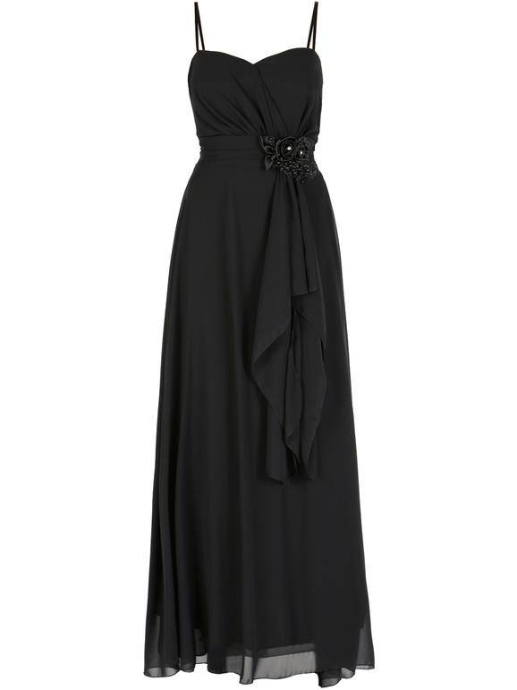 solada vestito lungo vestiti donna nero taglia unica