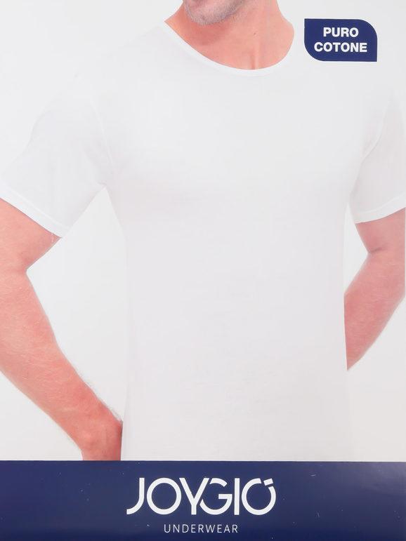 Joygio' Maglietta intima uomo girocollo Maglie Intime uomo Bianco taglia 06