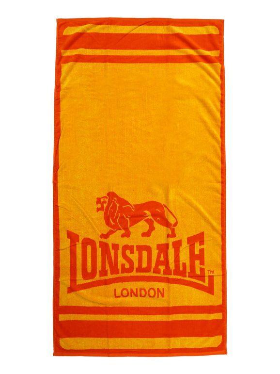 Lonsdale Telo mare Teli Mare unisex Arancione taglia Unica