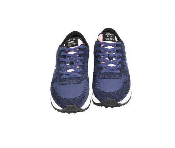 Sun Calzature Sneakers Sportivo  Art. Z40201 Blu+rosa  Fondo Gomma