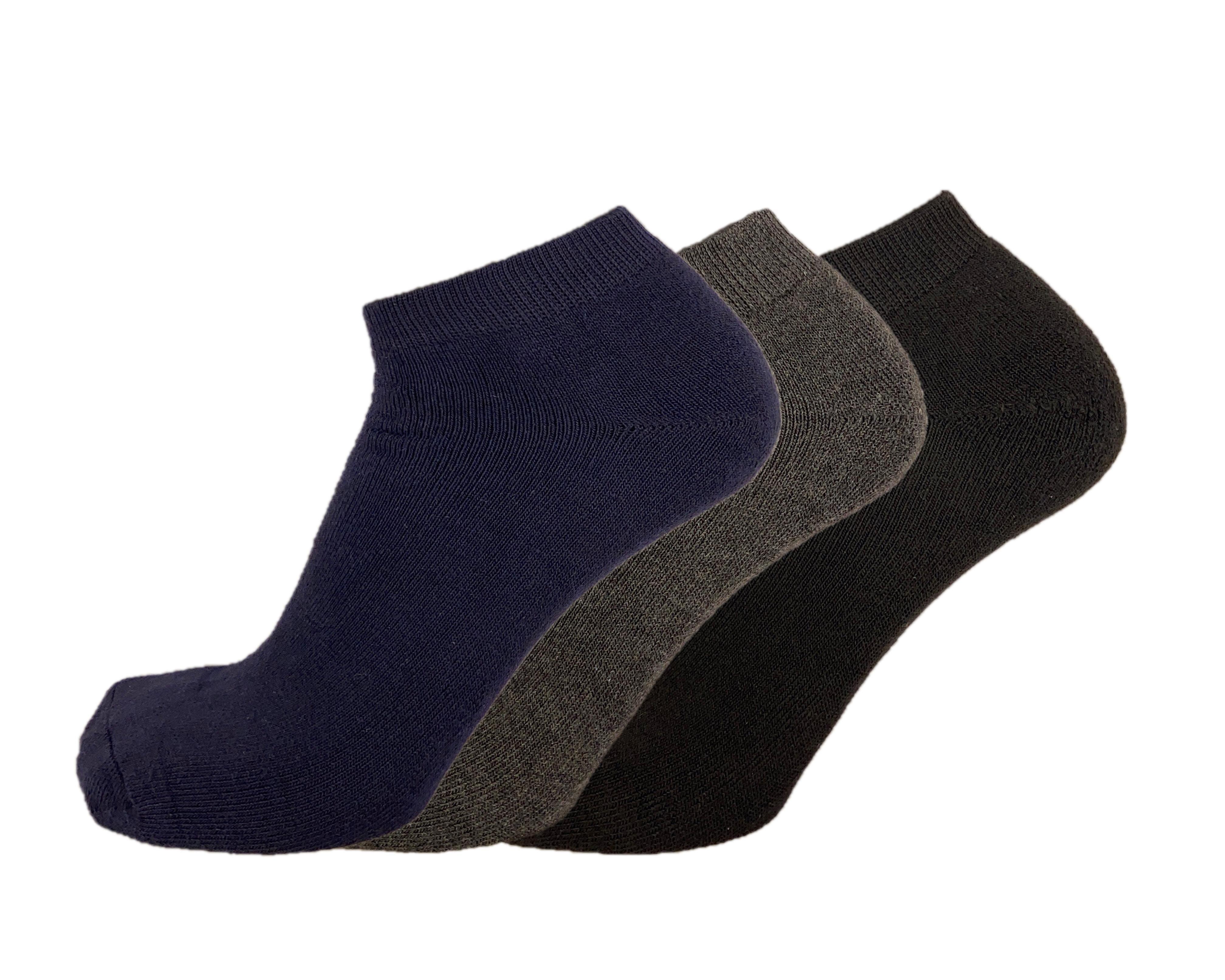 Virtus Fantasmino donna alla caviglia caldo cotone termico invernale