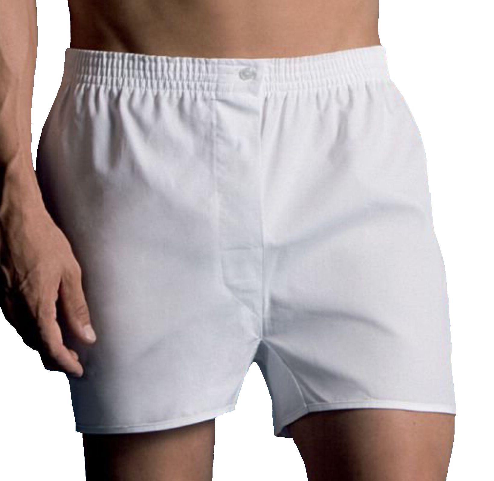 Vela 2 Boxer da uomo in tela di cotone 100% con taglio classico