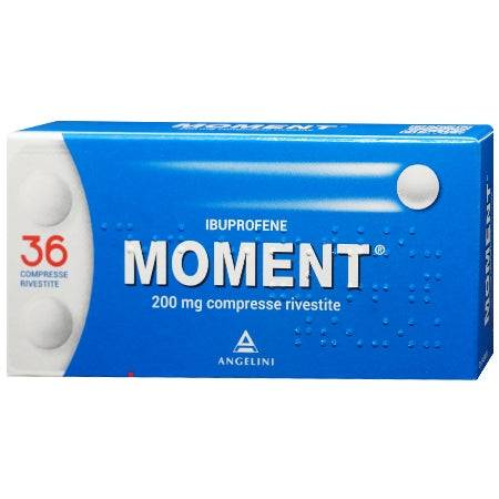 Angelini Spa Moment*36 Cpr Riv 200 Mg