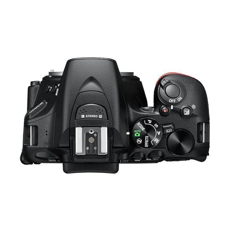 Nikon D5600 Nera + AF-S 18-140mm VR Reflex - BLACK FRIDAY SUMMER WEEK