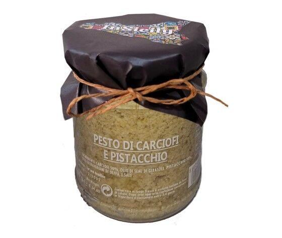 Pesto Carciofi E Pistacchio Conf 2 Pz Da 180 Gr L'Uno