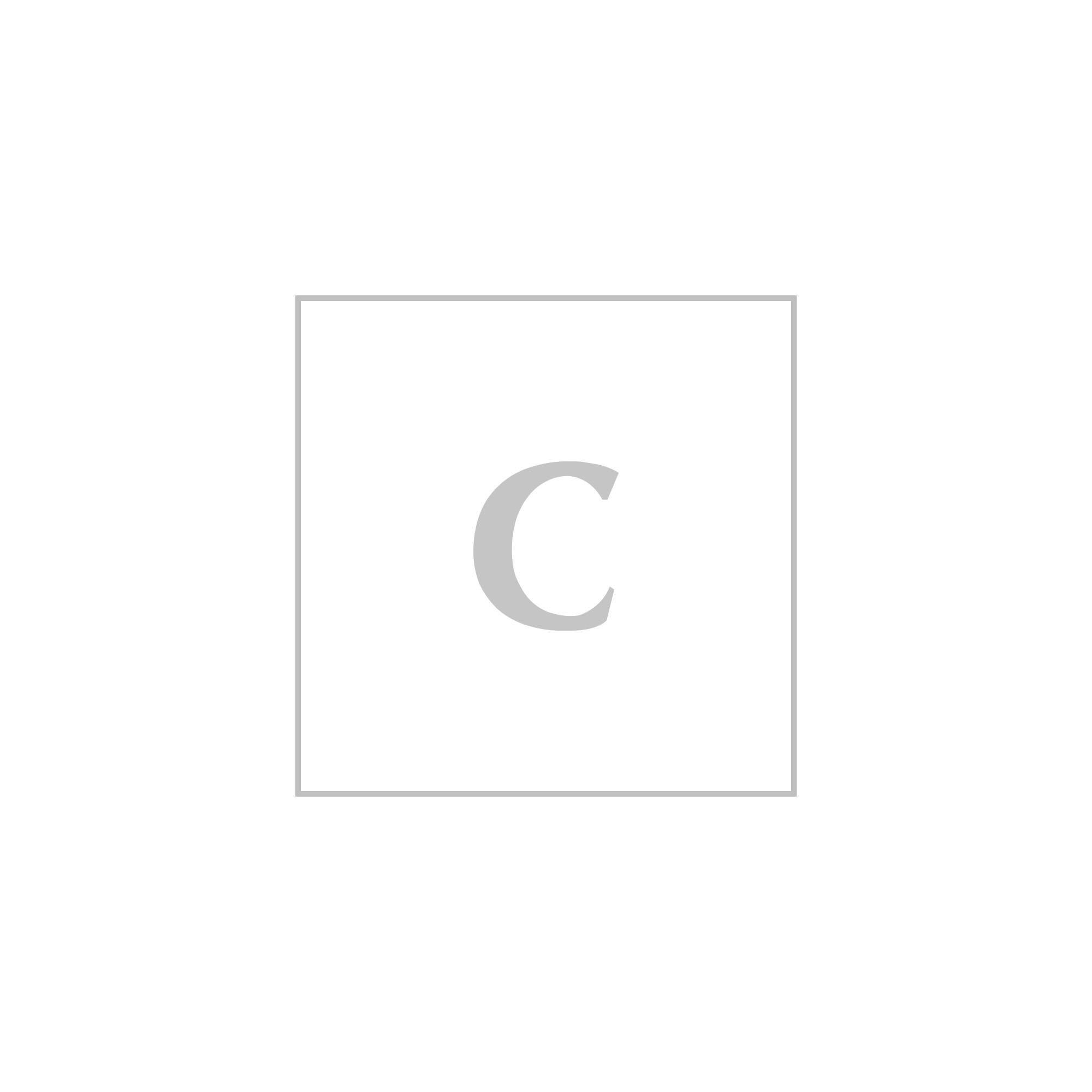moschino micro zaino lettering moschino con catena os nero tecnico, pelle