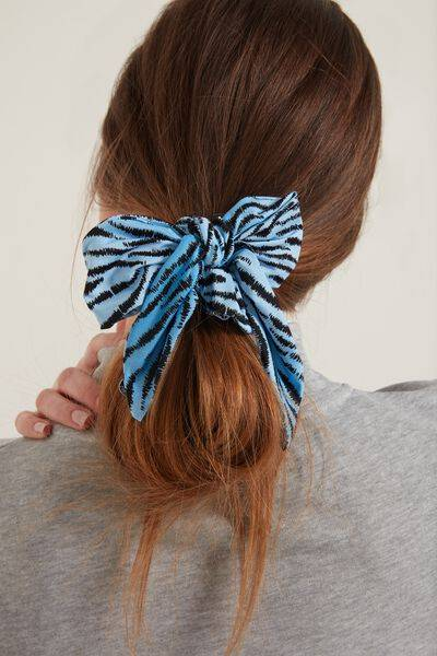 tezenis fiocco capelli foulard in fantasia donna stampa