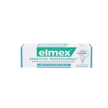 elmex sensitive professional whitening dentifricio sbiancante denti sensibili 75 ml