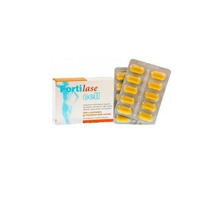 meda pharma spa fortilase cell 30 compresse - integratore alimentare anticellulite
