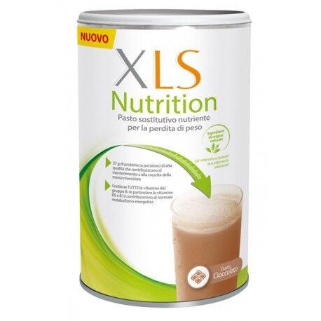 xls nutrition pasto sostitutivo per perdere peso al cioccolato 400 g