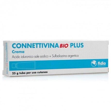 CONNETTIVINA Bio Plus Crema per Piaghe, Ulcere e Lesioni della Cute 25gr