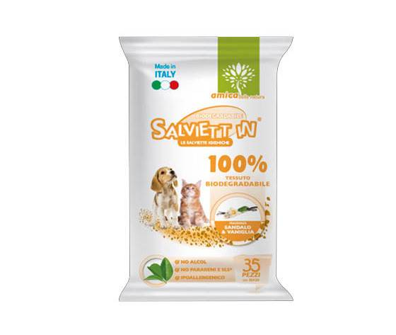 SALVIETT'IN Salviett'In Special Salviette Biodegradabili 100% Sandalo & Vaniglia 35 Pz