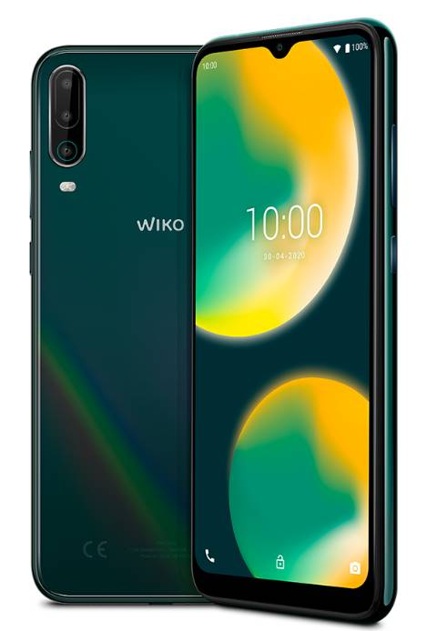 wiko cellulare wiko view 4 cosmic green italia