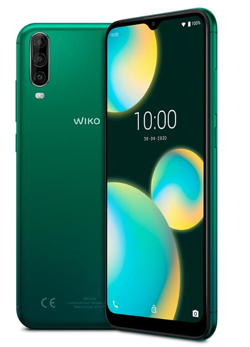 wiko cellulare wiko view 4 lite deep green italia