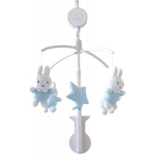 Miffy Giostrina Miffy Knitted Music Mobile Azzurra