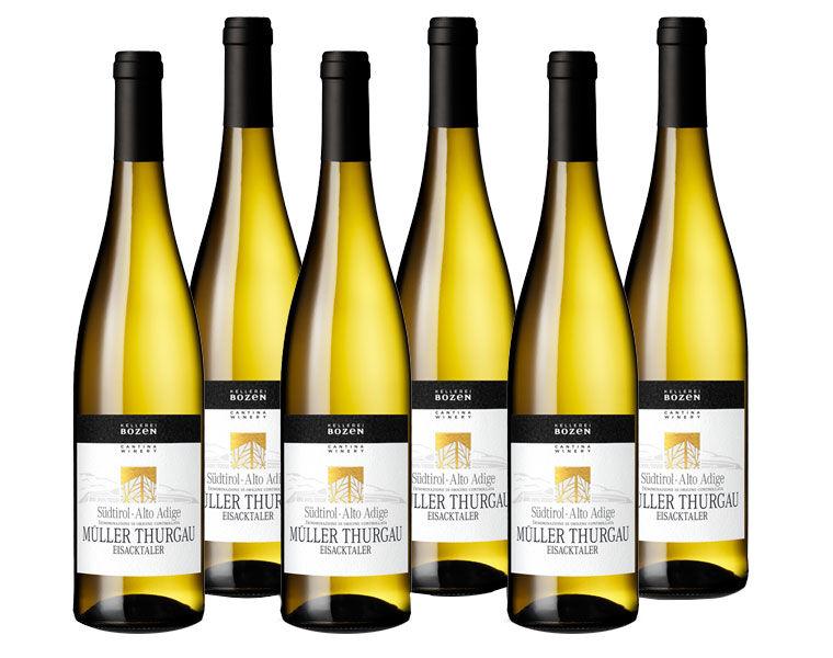 Svinando Confezione 6 Bottiglie Sudtirol Alto Adige Muller Thurgau DOC