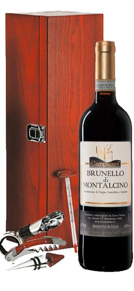 Svinando Brunello di Montalcino DOCG Campaperi + Cofanetto del Sommelier