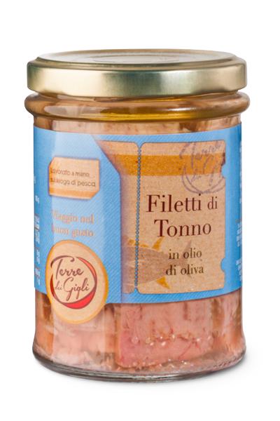 Svinando Filetti di Tonno in olio di oliva