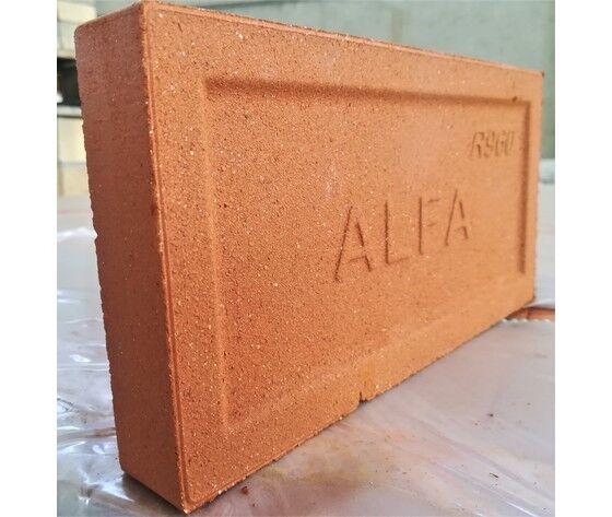 alfa ref tavella refrattaria rossa - set di n.5 tavelle
