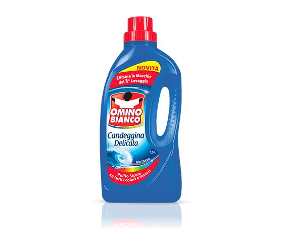 OMINO BIANCO Candeggina Delicata Blu Ocean