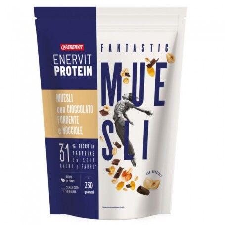 Enervit Protein Muesli Cioccolato Fondente E Nocciole 230 G