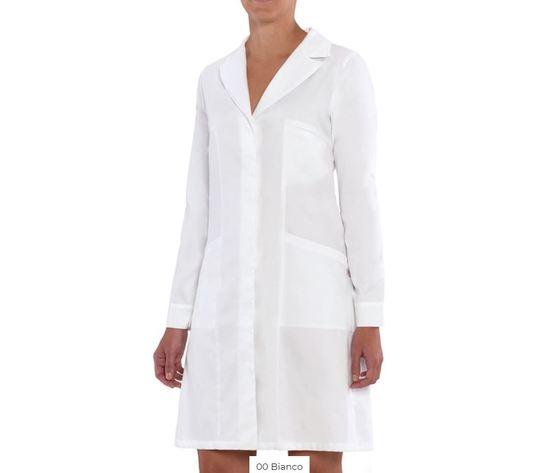 giblor's camice da donna professionale siena colore bianco