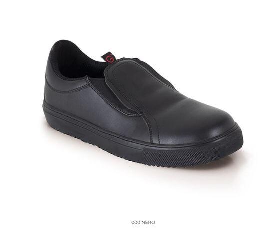 giblor's scarpa slip-on roma nera