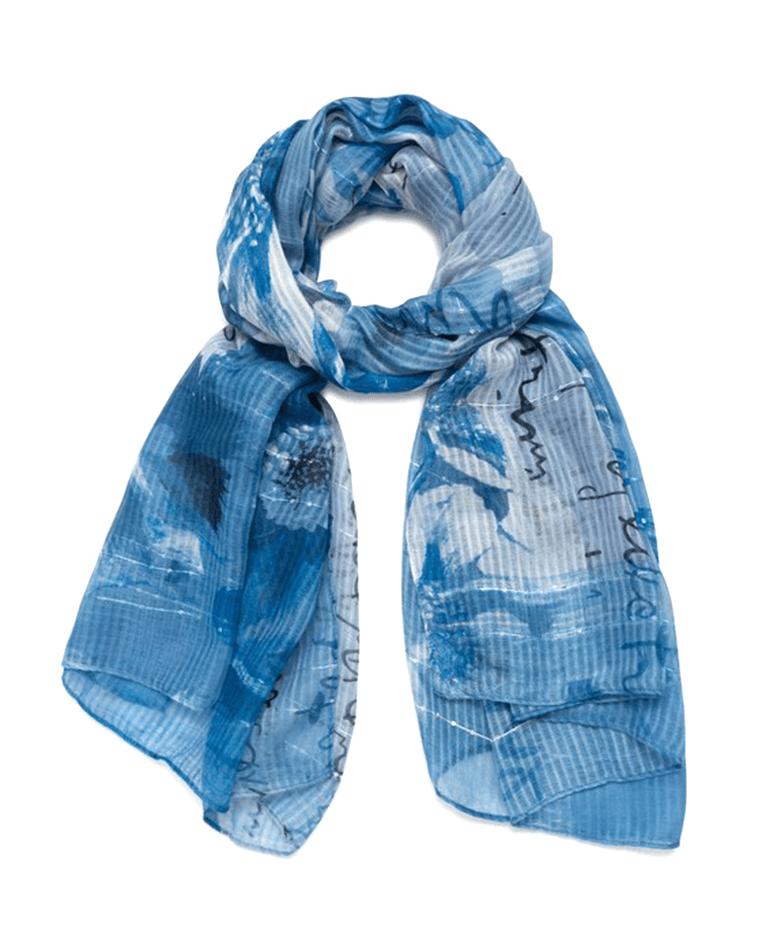 desigual foulard donna  fou_art picture 21sawa36  azul tinieblas
